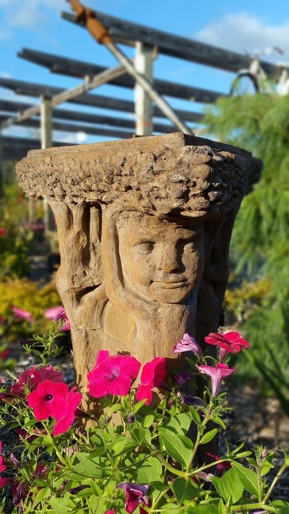 Graziano Gardens Sun Dial